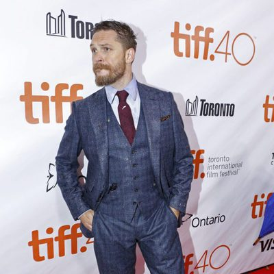 Tom Hardy en el estreno de 'Legend' en el Festival de Toronto