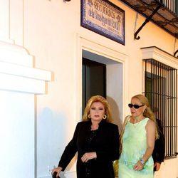 Rocío Jurado y Rosa Benito