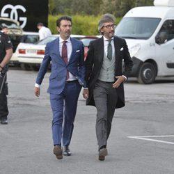 Iñaki Oyarzábal en la boda de Javier Maroto y Josema Rodríguez