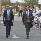Javier Maroto y Josema Rodríguez en el día de su boda