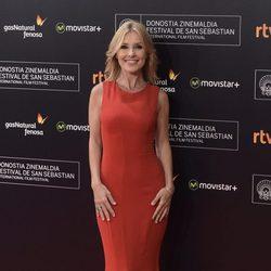 Cayetana Guillén Cuervo en la apertura del Festival de San Sebastián 2015