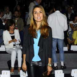 Silvia Casas en el front row de Angel Schlesser durante la Madrid Fashion Week 2015