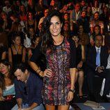 Verónica Hidalgo en el front row de Andrés Sarda en Madrid Fashion Week primavera/verano 2015