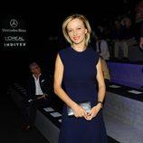 Susanna Griso en el front row de Roberto Torretta en Madrid Fashion Week primavera/verano 2015
