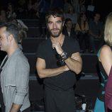 Alfonso Bassave en el front row de Amaya Arzuaga en Madrid Fashion Week primavera/verano 2015