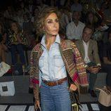 Naty Abascal en el front row de Juanjo Oliva en Madrid Fashion Week primavera/verano 2015