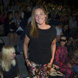 Melani Costa en el front row de Juanjo Oliva en Madrid Fashion Week primavera/verano 2015