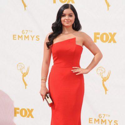 Ariel Winter en la alfombra roja de los premios Emmy 2015