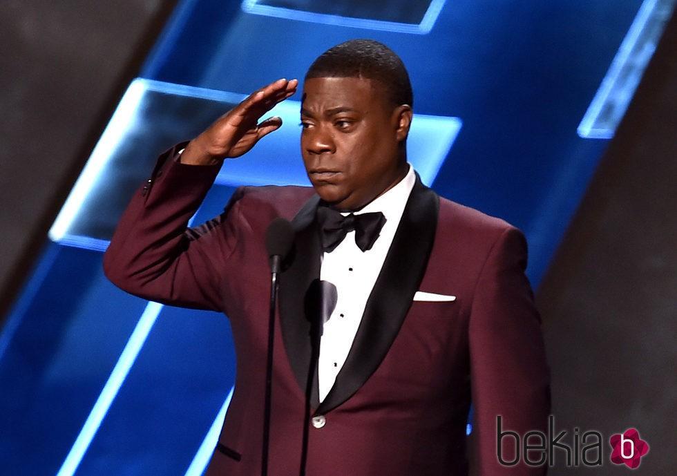 Tracy Morgan reaparece en los premios Emmy 2015