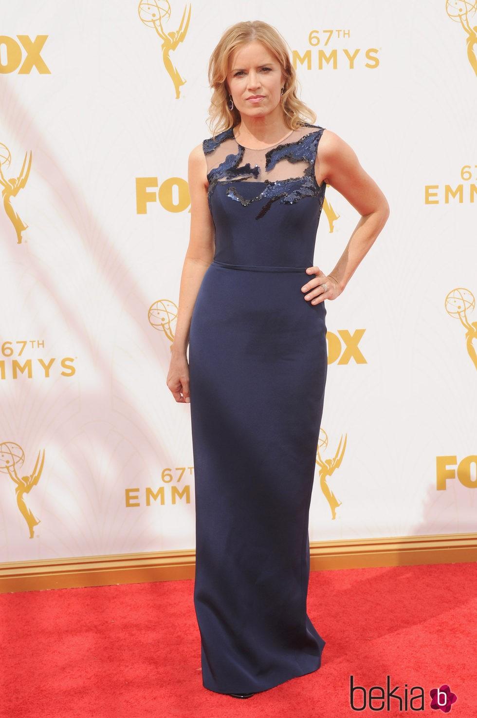 Kim Dickens en la alfombra roja de los premios Emmy 2015