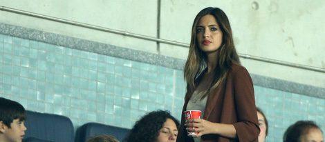 Sara Carbonero en el partido Porto-Benfica