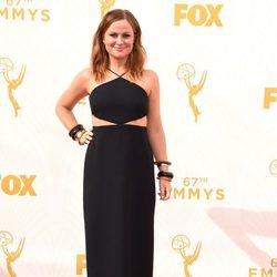 Amy Poehler en la alfombra roja de los premios Emmy