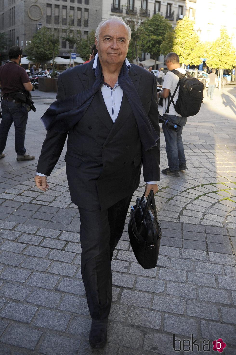 José Luis Moreno en el inicio de la temporada de ópera 2015