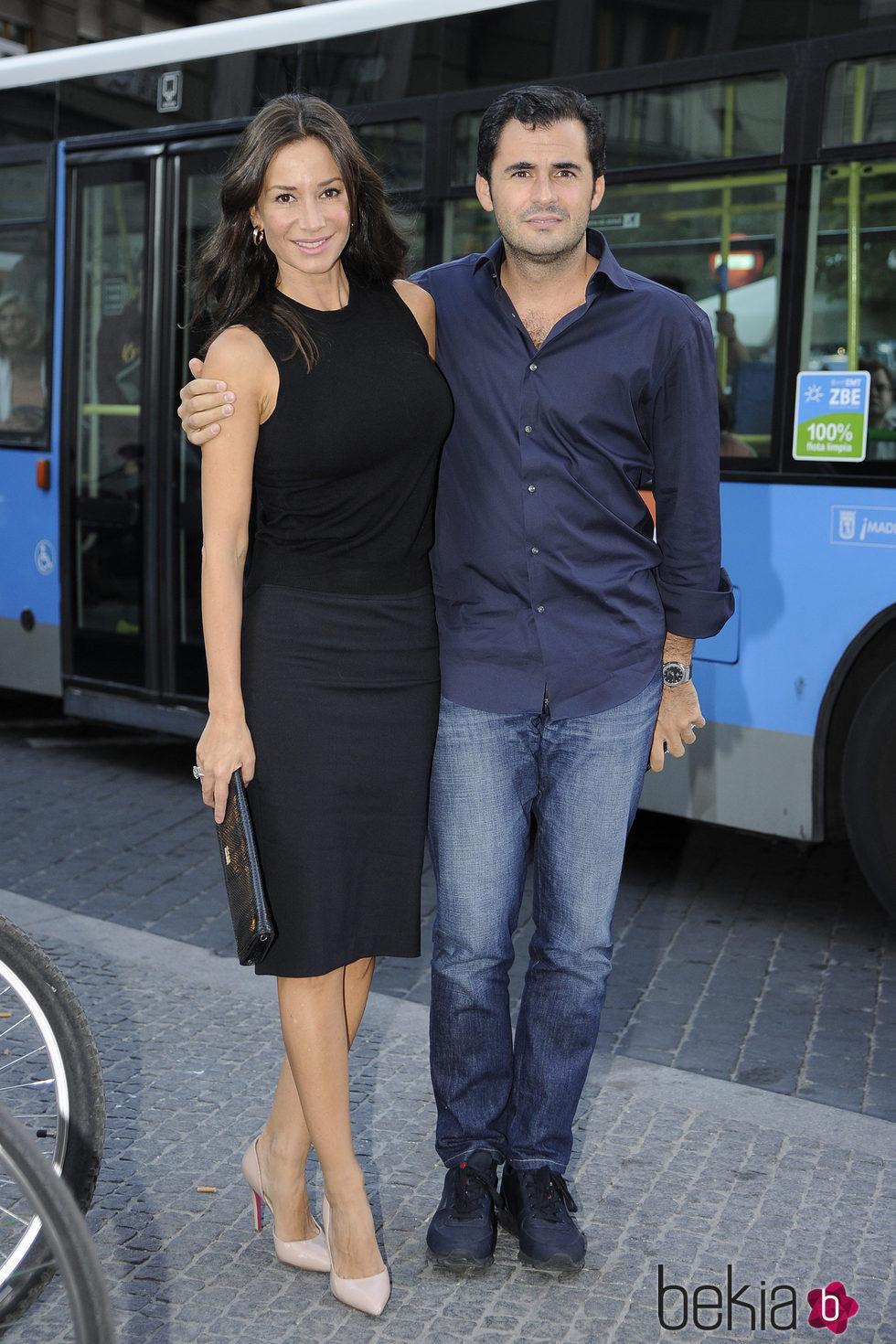 Emiliano Suárez y Cecilia Gómez en el inicio de la temporada de ópera 2015