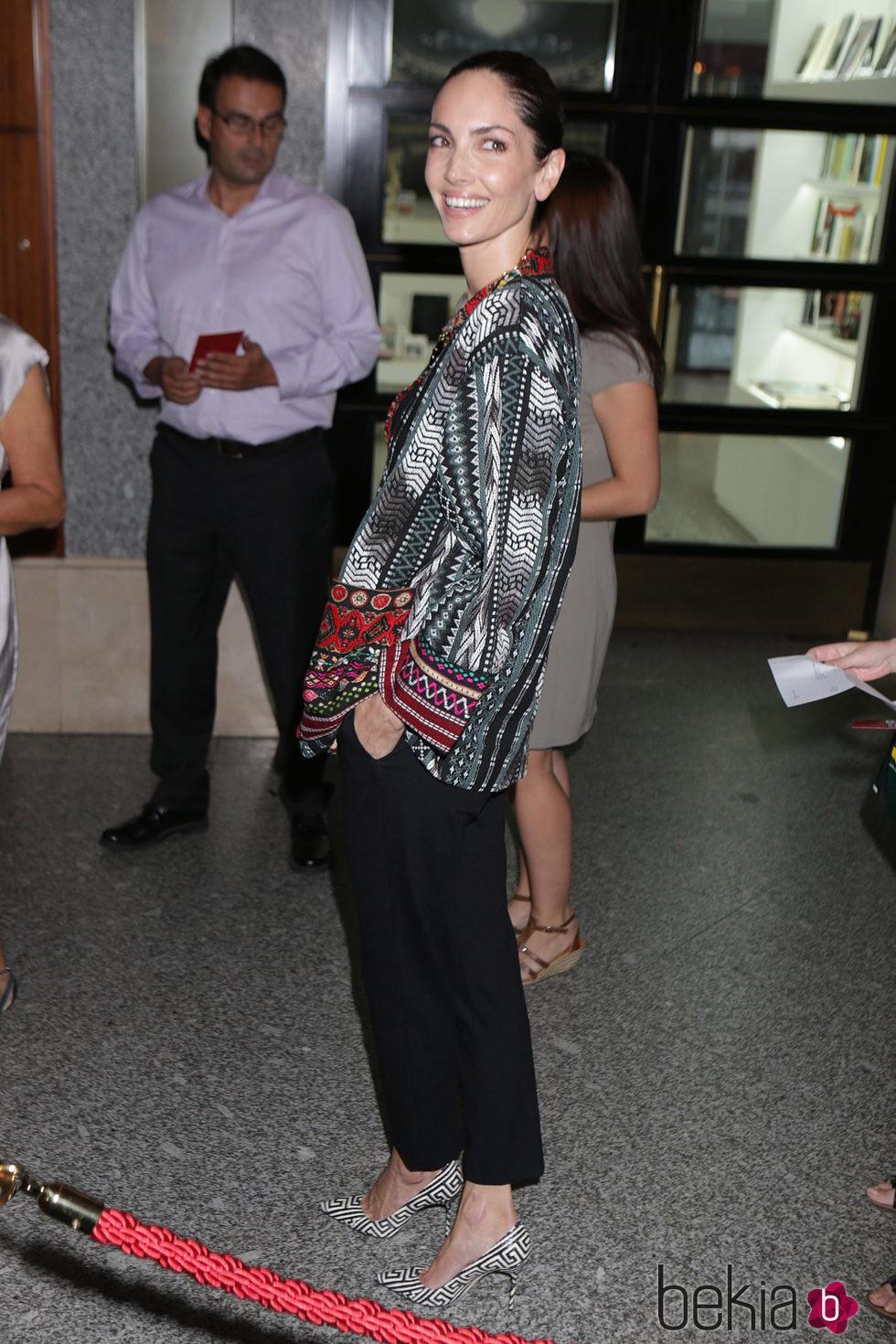 Eugenia Silva en el inicio de la temporada de ópera 2015