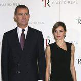 Los Reyes Felipe y Letizia en el inicio de la temporada de ópera 2015