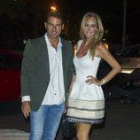Lara Dibildos y Joaquín Capel en la fiesta del 50 cumpleaños de Terelu Campos