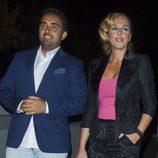 Rocío Carrasco y Fidel Albiac en la fiesta del 50 cumpleaños de Terelu Campos
