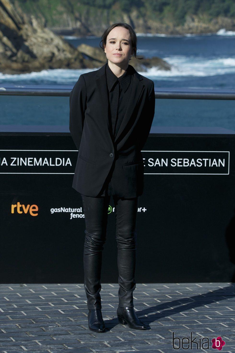 Ellen Page en la presentación de 'Freeheld' en el Festival de Cine de San Sebastián 2015