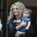 Shakira y Sasha Piqué en Nueva York