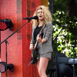 Tori Kelly en el Global Citizen Festival 2015