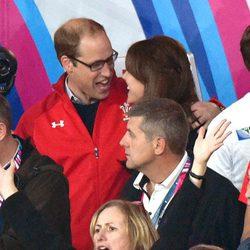 El Príncipe Guillermo y Kate Middleton, muy cómplices en el Mundial de Rugby 2015