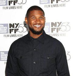 Usher en la presentación de 'The Martian'