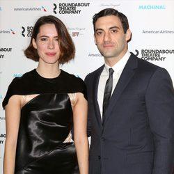 Rebecca Hall y su marido Morgan Spector