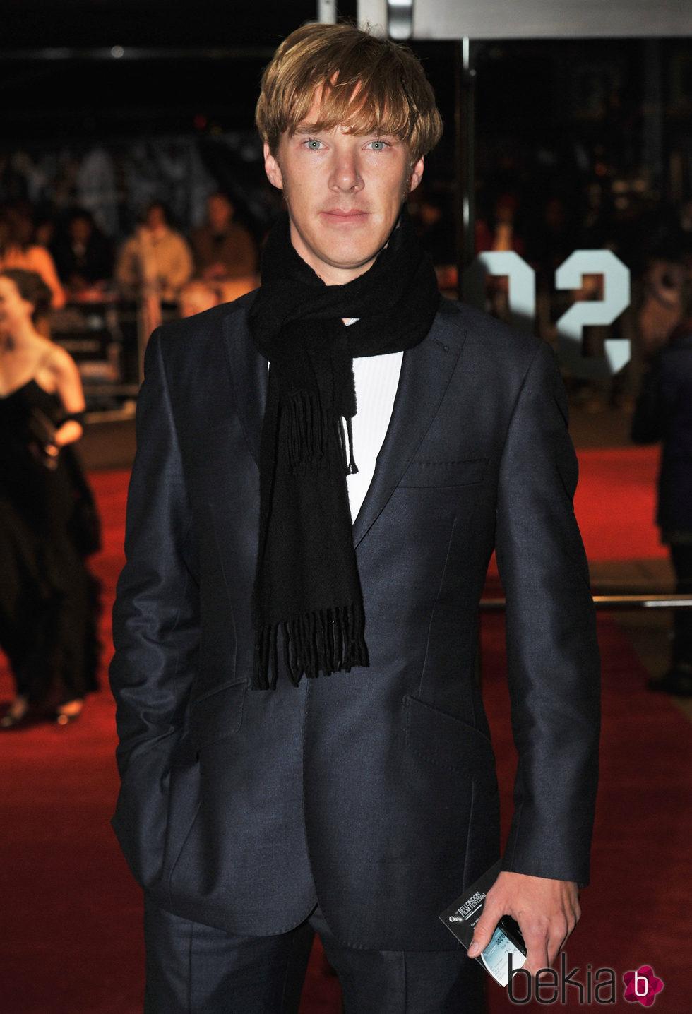 Benedict Cumberbatch en el estreno de 'El discurso del rey' en Londres