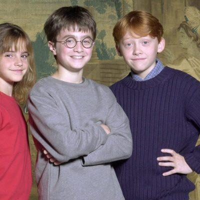 Los jóvenes protagonistas de la saga 'Harry Potter'