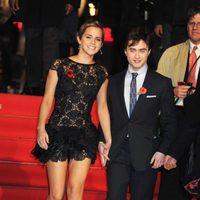 Emma Watson y Daniel Radcliffe en el estreno de 'Harry Potter y las Reliquias de la Muerte: Parte 1'