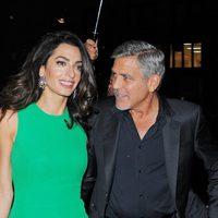 George Clooney y Amal Alamuddin en el New York Film Festival