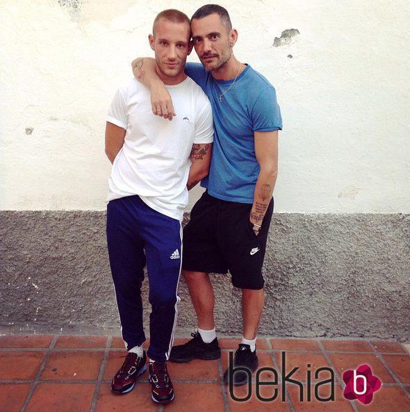 David Delfín y Pablo Sáez