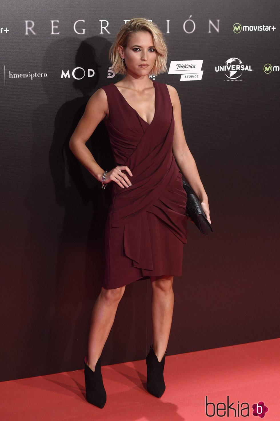Ana Fernández en el estreno de 'Regresión'