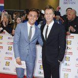 Tom Daley y Dustin Lance Black en los Pride of Britain Awards 2015