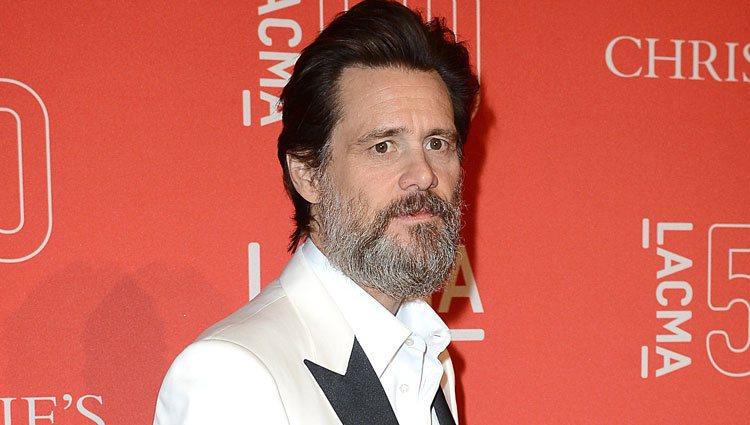 Jim Carrey en la gala de LACMA's