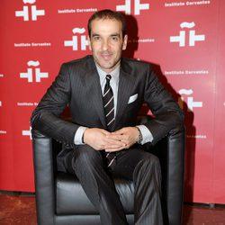 Luis Merlo en el homenaje a Amparo Rivelles en el Instituto Cervantes