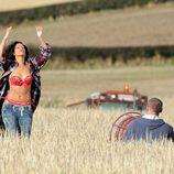 Rihanna, camaleónica en el rodaje de 'We found love'