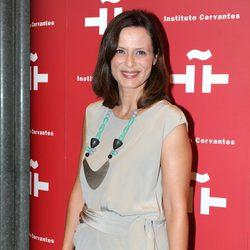 Aitana Sánchez Gijón en el homenaje a Amparo Rivelles en el Instituto Cervantes