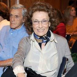 Julia Gutiérrez Caba en el homenaje a Amparo Rivelles en el Instituto Cervantes