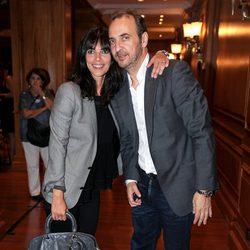 Maribel Verdú y Pedro Larrañaga en el homenaje a Amparo Rivelles en el Cervantes