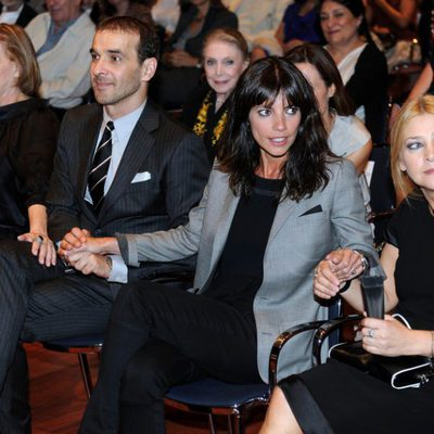 María Luisa Merlo, Luis Merlo, Maribel Verdú y Amparo Larrañaga en el homenaje a Amparo Rivelles