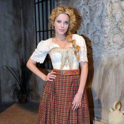 Carolina Bang en la presentación de la segunda temporada de 'Tierra de lobos'