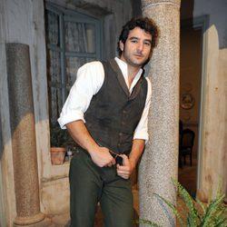 Antonio Velázquez en la presentación de la segunda temporada de 'Tierra de lobos'