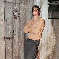 Junio Valverde en la presentación de la segunda temporada de 'Tierra de lobos'