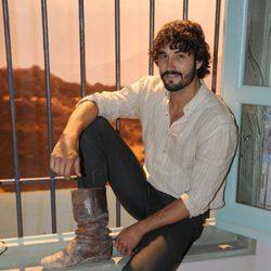 Álex García en la presentación de la segunda temporada de 'Tierra de lobos'