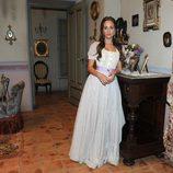 Silvia Alonso en la presentación de la segunda temporada de 'Tierra de lobos'