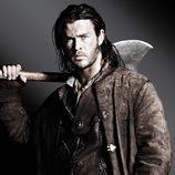 Chris Hemsworth da vida a 'El Cazador' en 'Blancanieves'