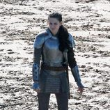 Kristen Stewart en el rodaje de 'Snow White and the Huntsman'