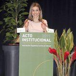 La princesa Letizia en un discurso de los premios 'V' de Vida